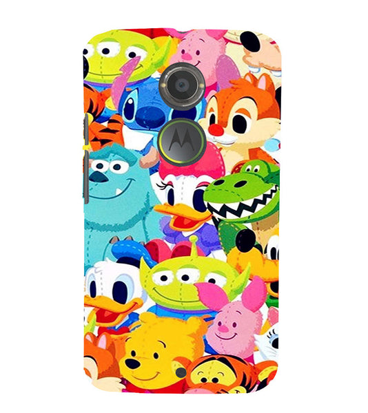 EPICCASE Cartoons Back Case Cover for Moto X2