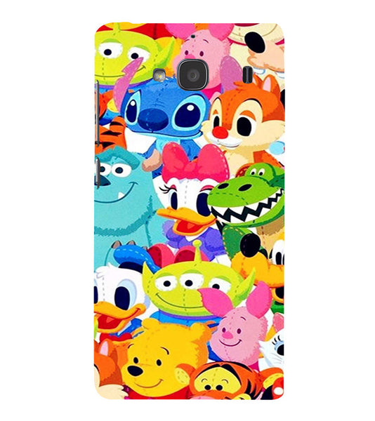 EPICCASE Cartoons Back Case Cover for Xiaomi Redmi 2s