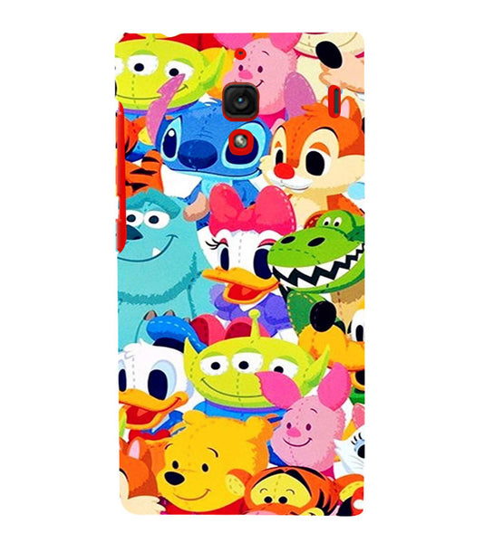 EPICCASE Cartoons Back Case Cover for Xiaomi Redmi 1s
