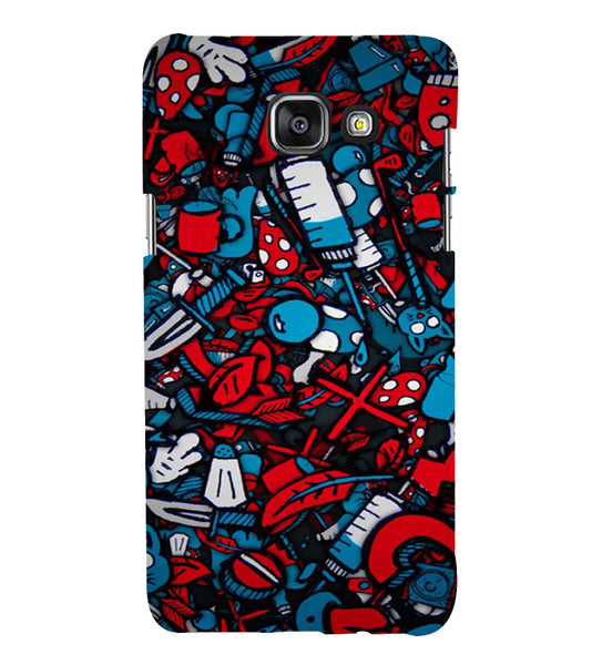 EPICCASE Absract Art Case Back Case Cover for Samsung A7 2016