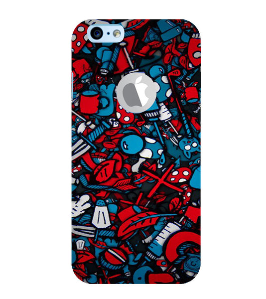 EPICCASE Absract Art Case Back Case Cover for Apple iPhone 6/6s