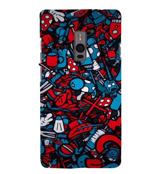 EPICCASE Absract Art Case Back Case Cover for Oneplus Two