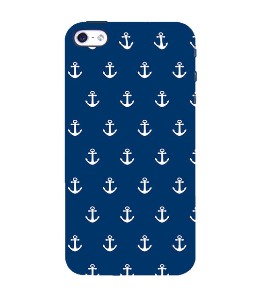 EPICCASE Anchor Pattern Back Case Cover for Apple iPhone 5/5s