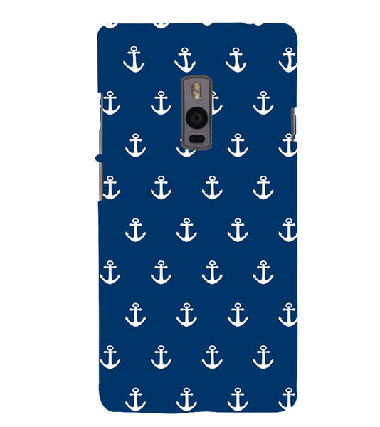 EPICCASE Anchor Pattern Back Case Cover for Oneplus Two