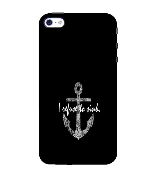 EPICCASE Refuse to Sink Back Case Cover for Apple iPhone 5/5s