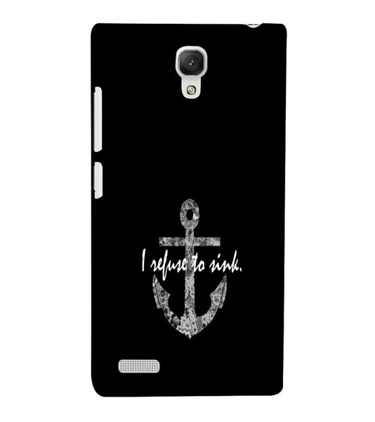 EPICCASE Refuse to Sink Back Case Cover for Xiaomi Redmi Note