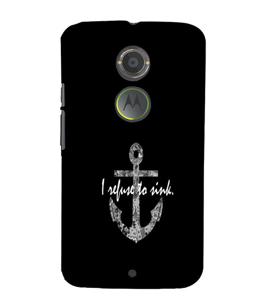 EPICCASE Refuse to Sink Back Case Cover for Moto X2