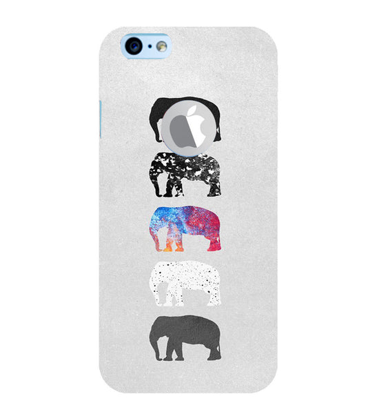 EPICCASE Elephant Design Back Case Cover for Apple iPhone 6plus/6splus