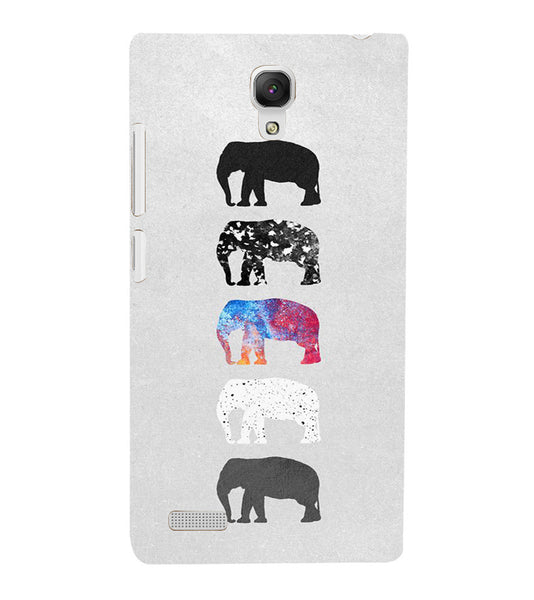 EPICCASE Elephant Design Back Case Cover for Xiaomi Redmi Note