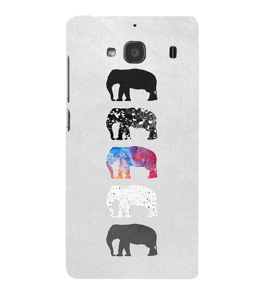 EPICCASE Elephant Design Back Case Cover for Xiaomi Redmi 2s