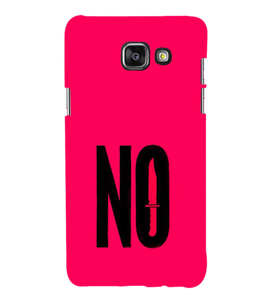 EPICCASE NO Voilence Back Case Cover for Samsung A7 2016
