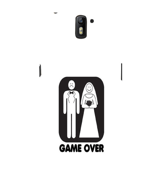EPICCASE Game Over Back Case Cover for Oneplus One