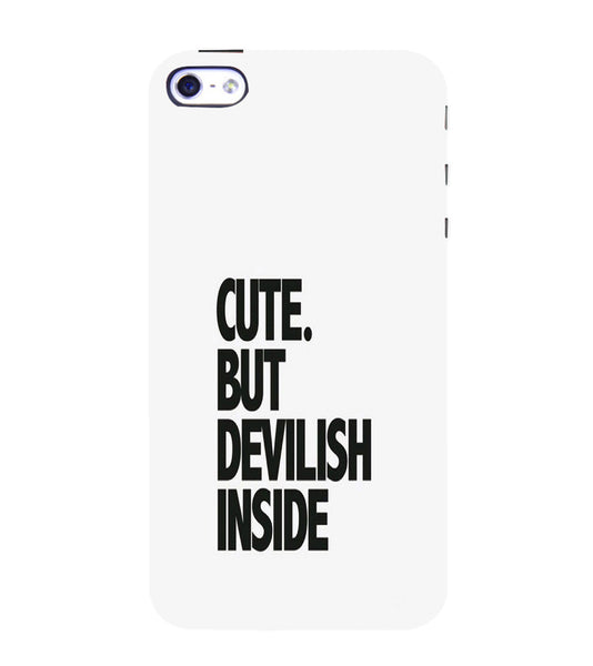 EPICCASE CUTE Devil Back Case Cover for Apple iPhone 4