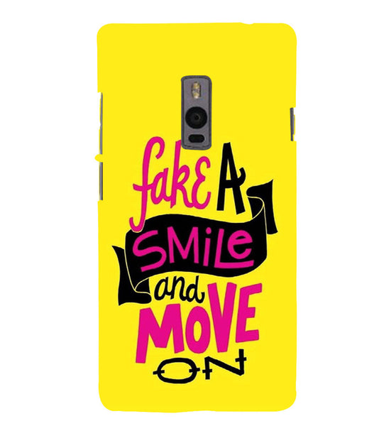 EPICCASE Fake Smile Back Case Cover for Oneplus Two