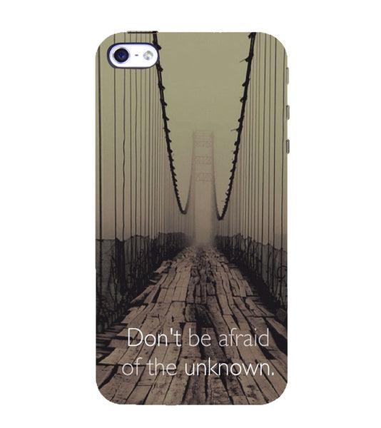 EPICCASE Dare to Explore Back Case Cover for Apple iPhone 5/5s