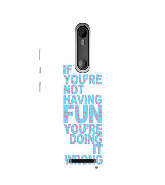 EPICCASE Are you doing it right Back Case Cover for Moto X3