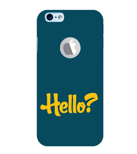 EPICCASE Hello? Back Case Cover for Apple iPhone 6plus/6splus
