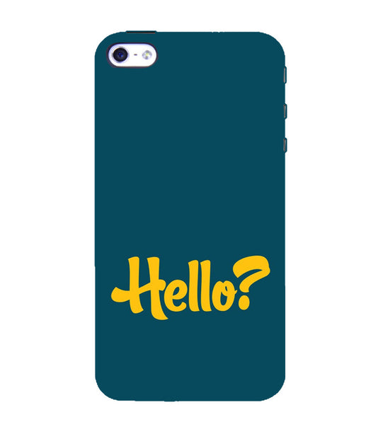 EPICCASE Hello? Back Case Cover for Apple iPhone 4