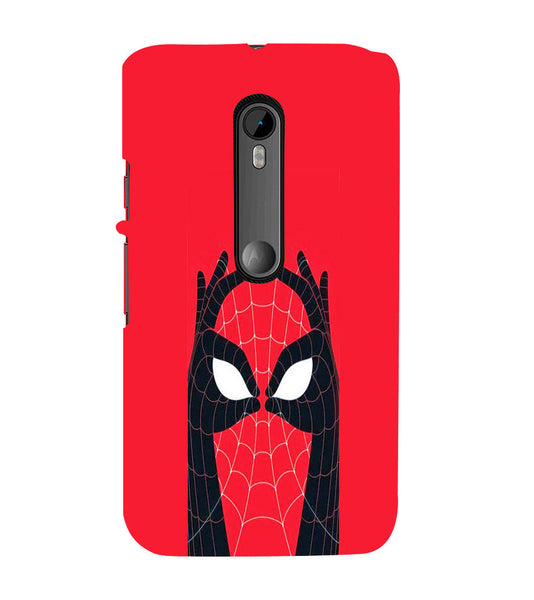 EPICCASE Spiderman Eyes Back Case Cover for Moto X Play