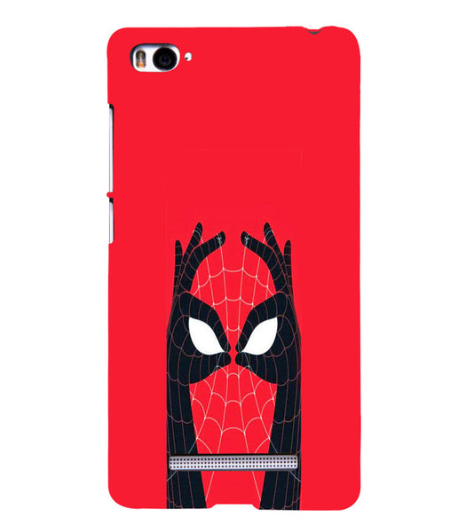 EPICCASE Spiderman Eyes Back Case Cover for Xiaomi Redmi Mi4i