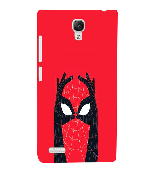 EPICCASE Spiderman Eyes Back Case Cover for Xiaomi Redmi Note