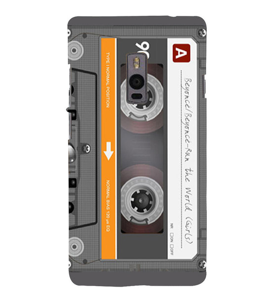 EPICCASE Audio Cassete Back Case Cover for Oneplus Two
