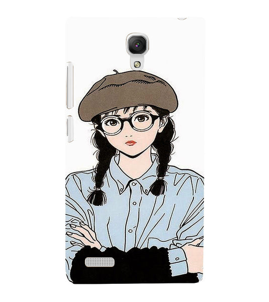 EPICCASE Hisashi Eguchi Back Case Cover for Xiaomi Redmi Note prime