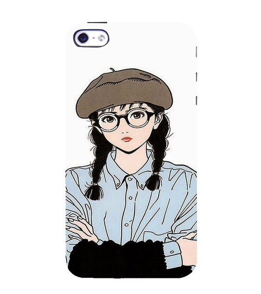 EPICCASE Hisashi Eguchi Back Case Cover for Apple iPhone 4