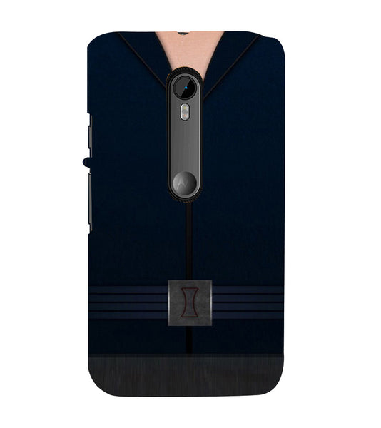 EPICCASE Zipped Out Back Case Cover for Moto X Play