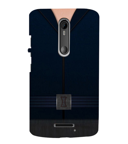 EPICCASE Zipped Out Back Case Cover for Moto X3