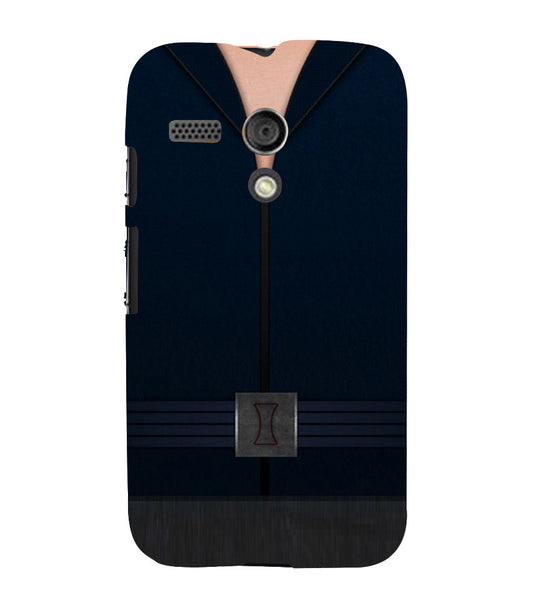 EPICCASE Zipped Out Back Case Cover for Moto G