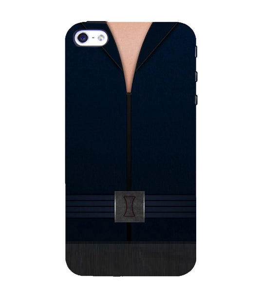 EPICCASE Zipped Out Back Case Cover for Apple iPhone 5/5s