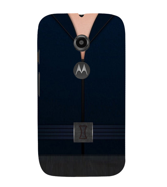 EPICCASE Zipped Out Back Case Cover for Moto E2