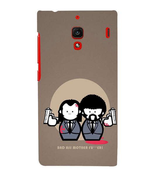 EPICCASE Bad Ass  Back Case Cover for Xiaomi Redmi 1s