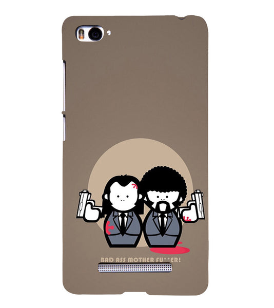 EPICCASE Bad Ass  Back Case Cover for Xiaomi Redmi Mi4i