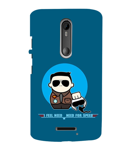 EPICCASE NFS Back Case Cover for Moto X3
