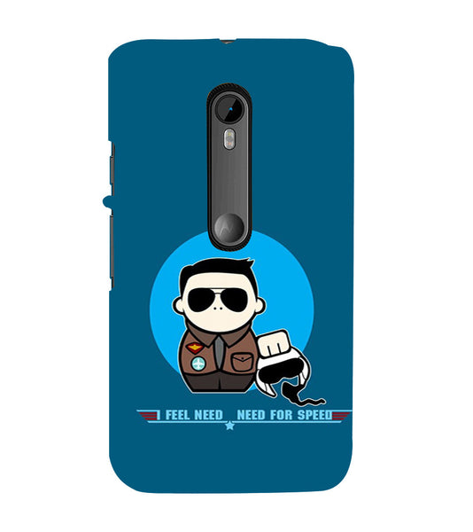 EPICCASE NFS Back Case Cover for Moto X Force