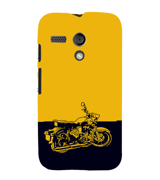 EPICCASE Trendy Bike Back Case Cover for Moto G