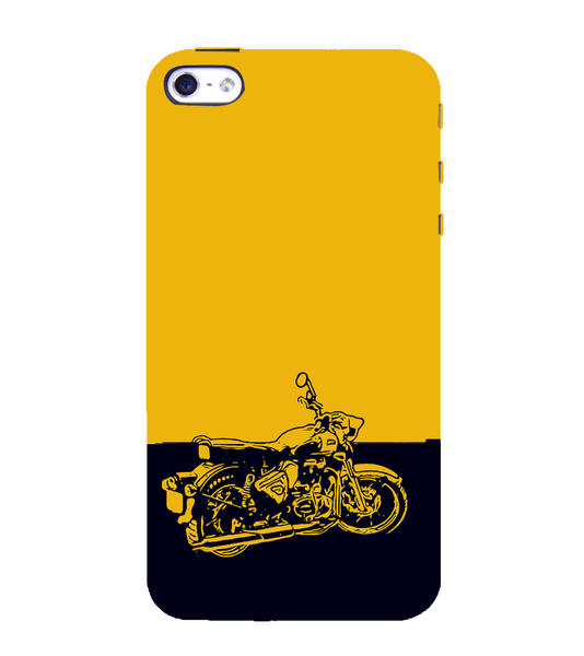 EPICCASE Trendy Bike Back Case Cover for Apple iPhone 5/5s