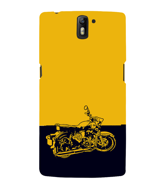 EPICCASE Trendy Bike Back Case Cover for Oneplus One