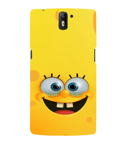 EPICCASE Minion Yellow Back Case Cover for Oneplus One