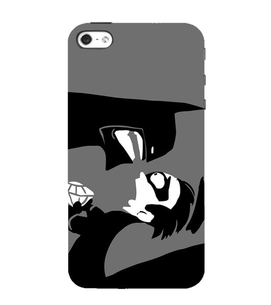 EPICCASE Anry faces Back Case Cover for Apple iPhone 5/5s