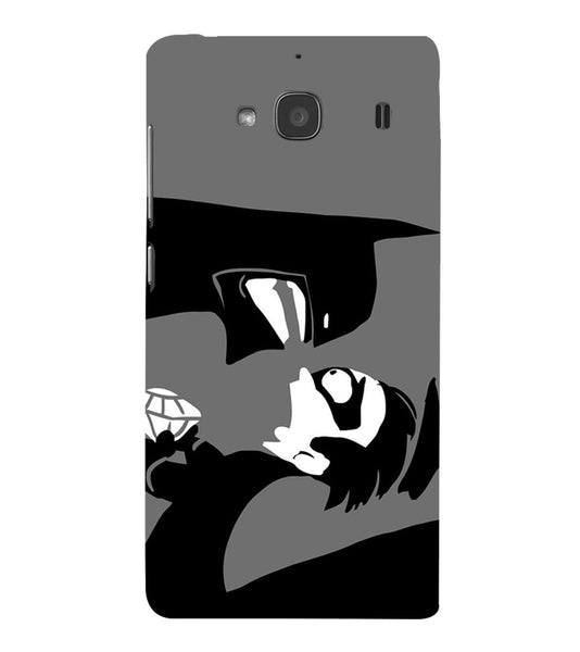 EPICCASE Anry faces Back Case Cover for Xiaomi Redmi 2s