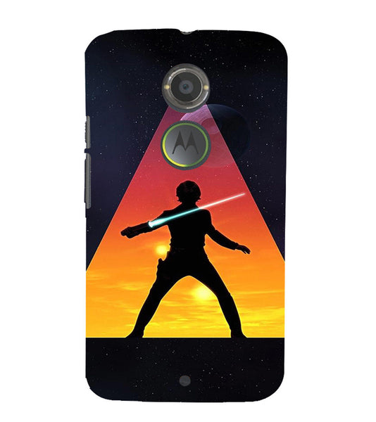 EPICCASE Action Packed Hero Back Case Cover for Moto X2
