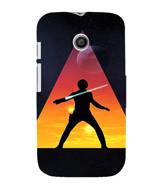 EPICCASE Action Packed Hero Back Case Cover for Moto E