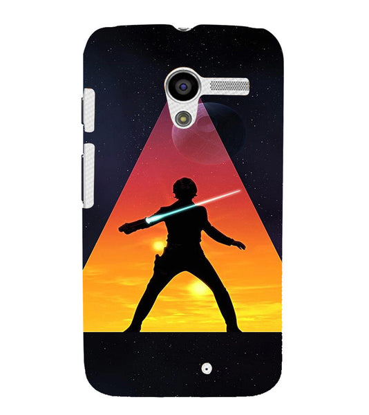 EPICCASE Action Packed Hero Back Case Cover for Moto X