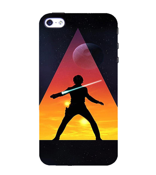 EPICCASE Action Packed Hero Back Case Cover for Apple iPhone 5/5s