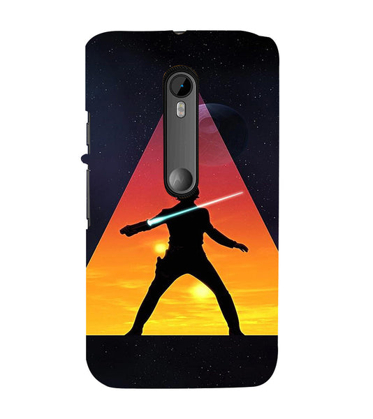 EPICCASE Action Packed Hero Back Case Cover for Moto X Force