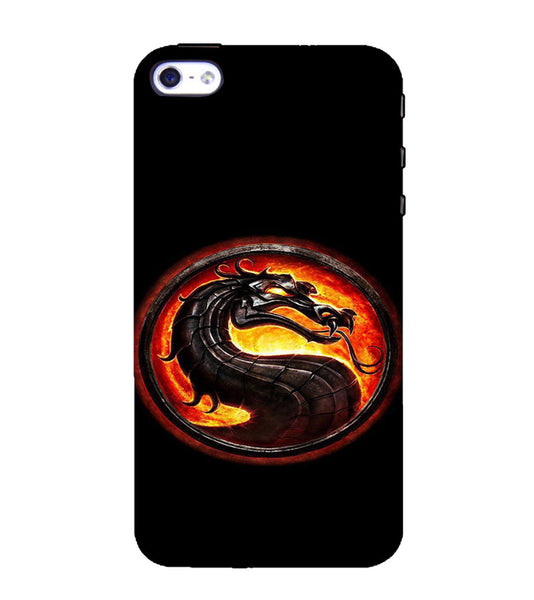 EPICCASE Dragon Back Case Cover for Apple iPhone 4