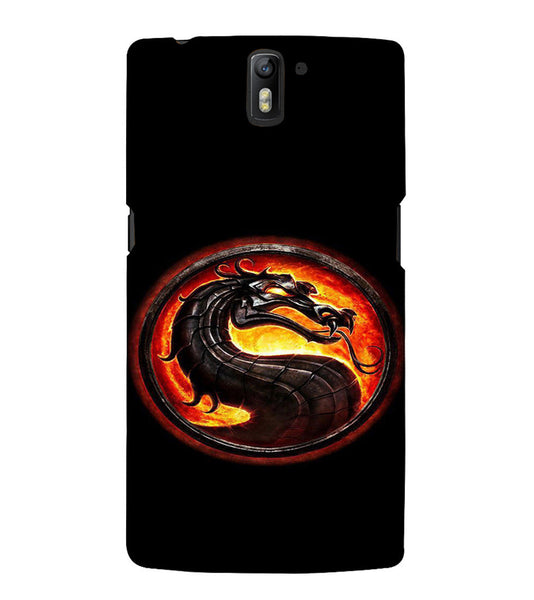 EPICCASE Dragon Back Case Cover for Oneplus One